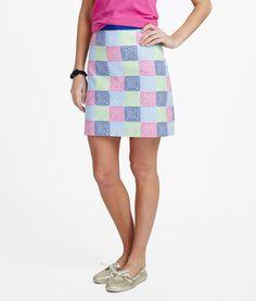 Women's Skirts: Whale Patchwork Skirt – Vineyard Vines. SO CUTE!