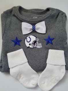 indianapolis colts baby boy outfit-NFL by CocoandEllieDesign