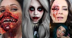 ? 33 Halloween Makeup Ideas ?