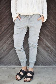 the perfect sweatpants / grey
