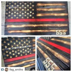 This is straight awesome right here. Make sure to give these guys a follow. We are going to raffle this off @fdicindy #Repost @flag_smiths with @repostapp. ・・・ Shipping this Thin Red Line out today! This is a donation to @555fitness for their program they have goin on over there. Go check out their page and give them a follow. Thanks for the interest in FlagSmiths guys #redwhiteblue #firefighter #peaceofficer #policeofficers #thinredline #thinblueline #OldGlory #red #white #blue #wooden...