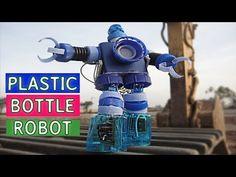 Como Fazer Robô Tipo Transforme Com 05 Tipo de tampas Pets - YouTube