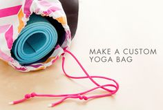 DIY your own yoga mat with this tutorial.