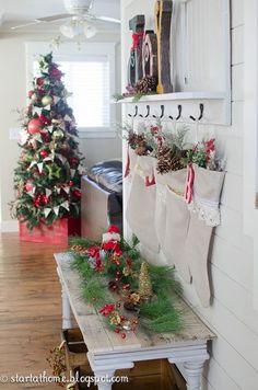 Christmas Hack: Stocking Hangers