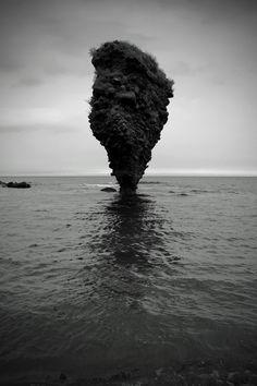 Ebisu Rock, Hokkaido, Japan