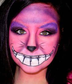 Alice in Wonderland makeup Chesire Cat - Google Search