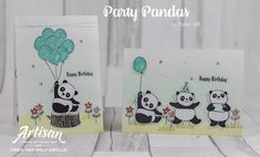 Stampin with Liz Design: Party Pandas - Stampin' Up! Artisan Blog Hop