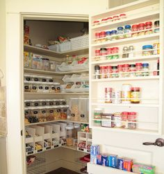 Food Storage | Canned Food Storage Shelves