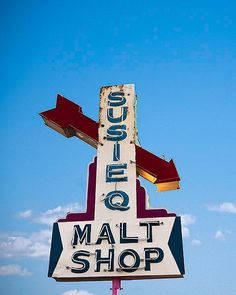 the Susie Q Malt Shop, still remains a favorite in Rogers Arkansas. It is well known throughout Northwestern region for its fantastic hamburgers and shakes.