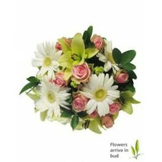 Tranquillity | Bouquet of lilies, Roses & Gerberas