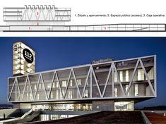 Criterios de diseño y análisis estructural del Centro de Atención y Gestión de Llamadas de Urgencia 112 Catalunya en Reus | Señís | Informes de la Construcción