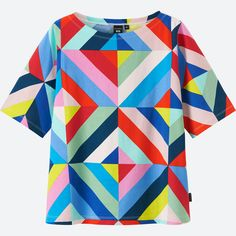 UNIQLO has partnered with Marimekko on a new collection of LifeWear. This unique collaboration marries simplicity with creativity and features timeless silhouettes in bold and vibrant Marimekko designs. Other Outfits, Cool Outfits, Fashion Outfits, Fashion Ideas, Colourful Outfits, Colorful Fashion, Uniqlo, 2000s Fashion, Textiles