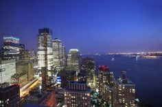 View from 41 River Terrace / Tribeca Pointe #NYC #apartment