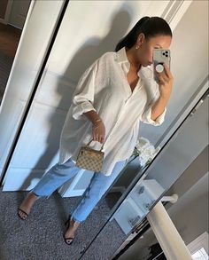 Oversized Shirt Outfit, Oversized White Shirt, White Shirt Outfits, Classy Casual, Classy Outfits, Stylish Outfits, Mode Ootd, Curvy Girl Outfits, Fashion Mode