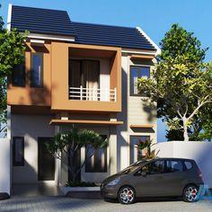 Model Rumah Minimalis Tipe 36 2 Lantai Lagi Ngetrend