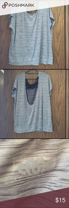 Maurice's 3x activewear InMotion top Maurice's activewear top size 3x.  INMotion line. Great piece. Like new Maurices Tops Tees - Short Sleeve