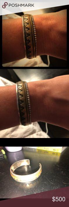 Tommy Singer Navajo bracelet NATIVE AMERICAN THOMAS TOMMY SINGER (d) NAVAJO STERLING SILVER OVERLAY RUG DESIGN CUFF BRACELET Jewelry Bracelets