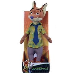 """#Christmas Order Disney Zootropolis Nick Wilde Plush Toy (10""""/26cm) for Christmas Gifts Idea Deals . Yearly you'll find very hot brand new  Christmas Toys which are unveiled simply by Christmas Toys companies throughout the year. As you are on the point of purchase a brand new Christmas Toys on your ..."""