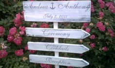 Nautical Wedding Sign