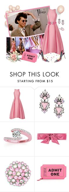 """""""Team Duckie!"""" by krusie ❤ liked on Polyvore featuring Monique Lhuillier, Erickson Beamon, Allurez, Pinko and Kate Spade"""
