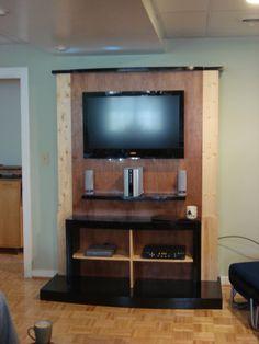 Entertainment center DIY