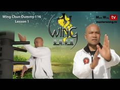 Wing Chun Dummy - Form - applications Lessons 1-10