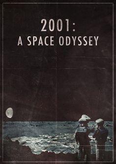 2001 a space odyssey by Stanley Kubrick