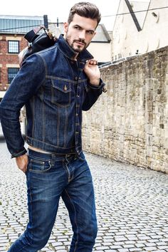 ADAM COWIE BY MARIE HARKNESS #denim #casual #style