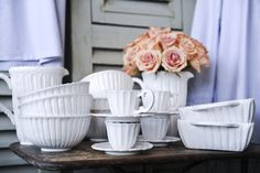 White-ware dishes