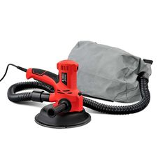 2-In-1 Handheld Sander and Vacuum for Drywall Plaster or Gyprock w/ 12 Sanding Pads 710W