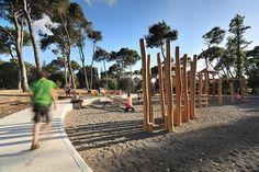 Архитектурные переводы: Нестандартный детский парк Hasomrim в Kiryat Tivon от Bo Landscape Architecture