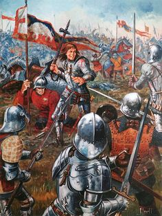 The Battle of Bosworth (22 August 1485) was the last significant battle of the Wars of the Roses, the civil war between the Houses of Lancaster and York. Lancaster leader, Henry Tudor, Earl of Richmond, by his victory in this battle became the first English monarch of the Tudor dynasty. His opponent, Richard III, the last king of the House of York, was killed in the battle.