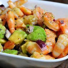 Avocado Salad with Shrimp Avocado Salad – Two Avocado Salad Recipes That You Will Love Avocado Salad with Shrimp. Do you like avocados? Do you want to make a tasty salad that has avocados in … Shrimp Avocado Salad, Avocado Salad Recipes, Avocado Salat, Avocado Dessert, Shrimp Recipes, Paleo Recipes, Cooking Recipes, Easy Recipes, Fingers Food
