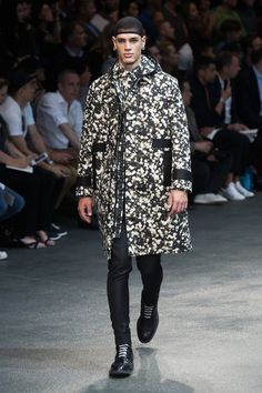 Givenchy, Floral Printed Trenchcoat