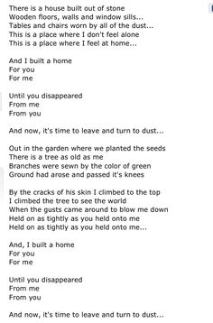 The Cinematic Orchestra  To Build a Home I've known this song for a while and it's still one if my favorites!