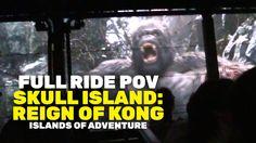 "FULL RIDE POV: ""Skull Island: Reign of Kong"" at  Universal Orlando Islan..."