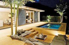 Image result for modern wooden deck ideas