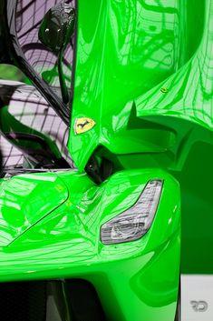 Cool Green LaFerrari