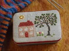vvb:  Hadn't thought of doing cross-stitch on top! // angelscompl-5.jpg photo by Kissy-Cross