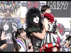 Armand D. shared a video KISS Meets Momoiro Clover Z