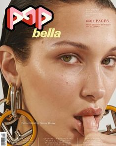 Cover story and editorial everybody's talking about this week goes to the POP Magazine and their shoot featuring top model BELLA HADID posing in an acrylic aquarium. The art installation inspired shoot is photographed and styled by Stevie Dance. The Face Magazine, Pop Magazine, Magazine Covers, 3 4 Face, Cindy Kimberly, Img Models, Karlie Kloss, Hailey Baldwin, Gigi Hadid