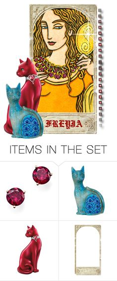 """""""Norse Goddess Freyja"""" by elsiemarley22 ❤ liked on Polyvore featuring art"""
