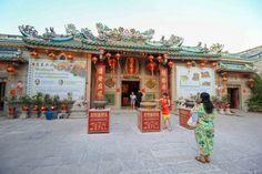 Bangkok Chinatown Buddha Tempel, Bangkok, Travel, Chinese Buildings, Flower Market, Tours, Tips, Viajes, Destinations