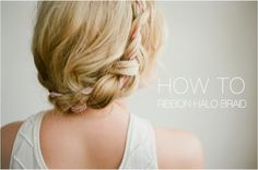 HOW TO: HALO BRAID TUTORIAL WITH FROU FROU RIBBON