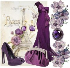 """""""Pretty In Paris"""" by jacque-reid ❤ liked on Polyvore"""