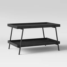I need this good looking gutters bookshelf White Table Top, Black Table, Gutter Bookshelf, Black Furniture, Modern Coffee Tables, Formal Living Rooms, Steel Metal, Particle Board, White Area Rug