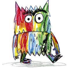 Este me keda sacarlo hoy Emotions Activities, Art Therapy Activities, Activities For Kids, Art In The Park, Rainbow Room, Preschool Worksheets, Beautiful Mind, Monster, Pre School
