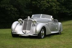 beautiful classic cars: 1938 Horch 853A Erdmann & Rossi Sport Cabriolet