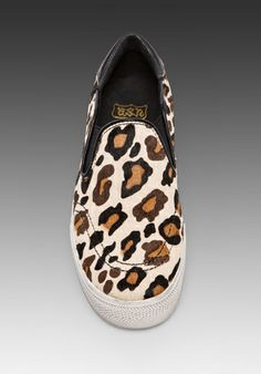 ASH Jungle Slip-On in Cream - Ash