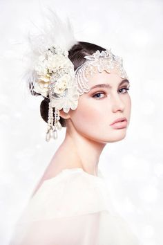 Discover and share the most beautiful images from around the world.                                                            GORGEOUS  bridal headpiece!